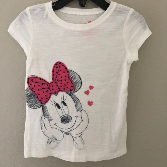 3ed83568e jumping beans Shirts & Tops | Disney Toddler Girl Minnie Mouse Tee ...
